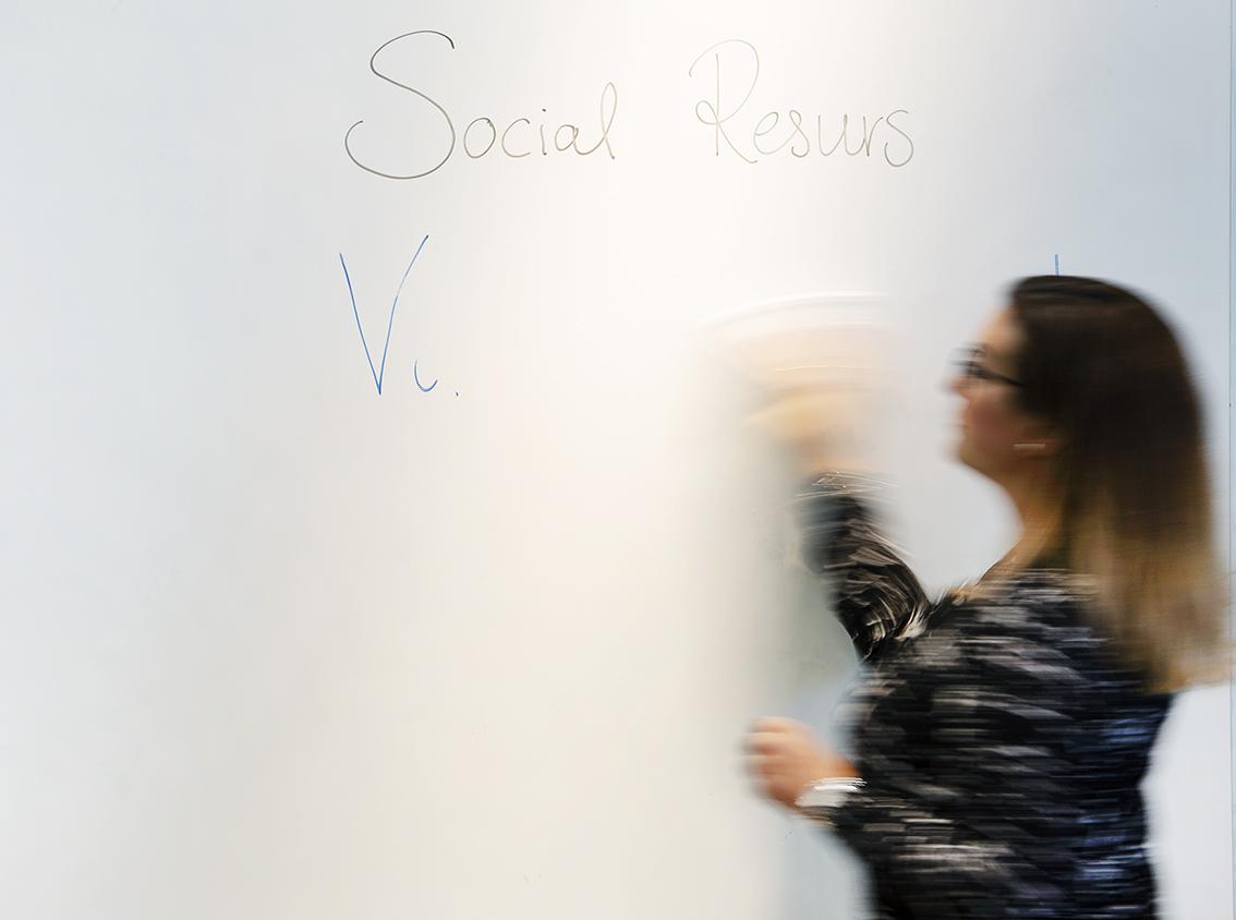 Social resurs Tina Karpin