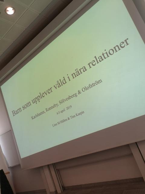 Social resurs Våld i nära relationer